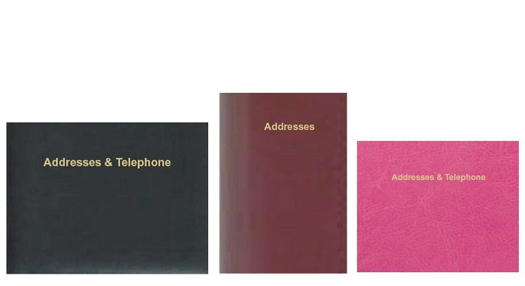 DataDay Address Books from Charfleet